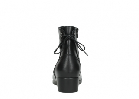 wolky ankle boots 07822 beryl 20000 black leather_7