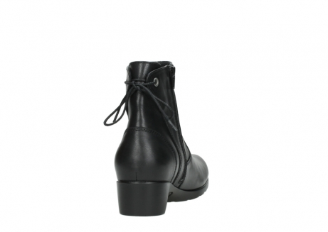 wolky ankle boots 07822 beryl 20000 black leather_8