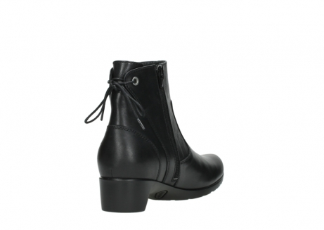 wolky ankle boots 07822 beryl 20000 black leather_9