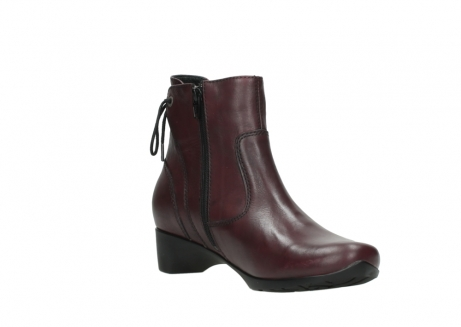 wolky ankle boots 07822 beryl 20510 bordeaux leather_16