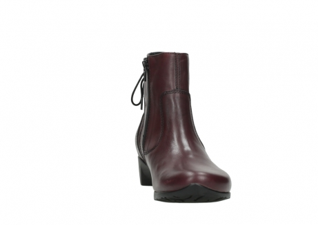 wolky ankle boots 07822 beryl 20510 bordeaux leather_18