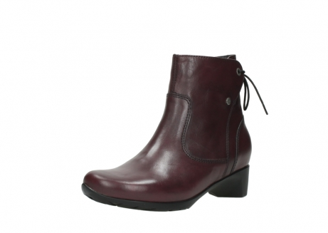 wolky ankle boots 07822 beryl 20510 bordeaux leather_22