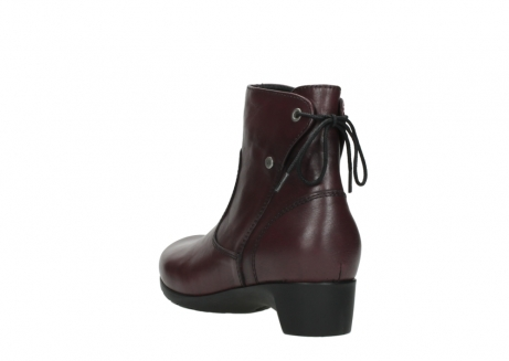 wolky ankle boots 07822 beryl 20510 bordeaux leather_5