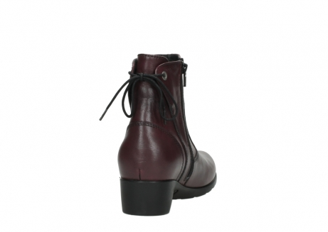 wolky ankle boots 07822 beryl 20510 bordeaux leather_8