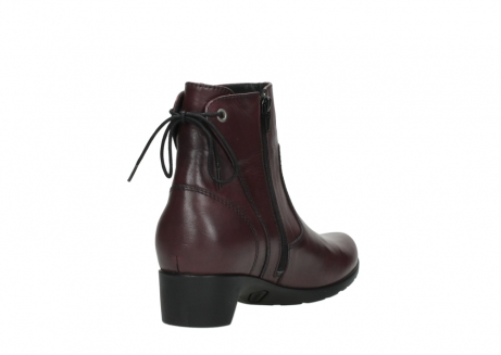 wolky ankle boots 07822 beryl 20510 bordeaux leather_9