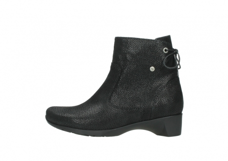 wolky ankle boots 07822 beryl 71000 black leather_1