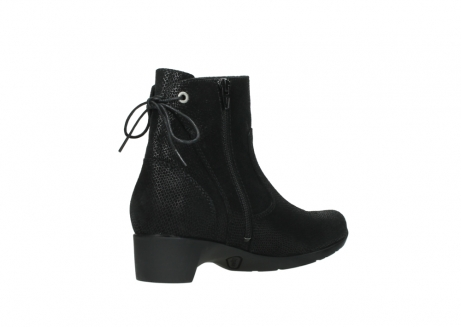 wolky ankle boots 07822 beryl 71000 black leather_10