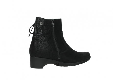 wolky ankle boots 07822 beryl 71000 black leather_11