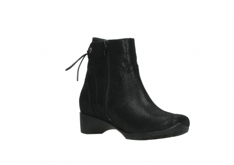 wolky ankle boots 07822 beryl 71000 black leather_16