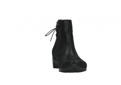 wolky ankle boots 07822 beryl 71000 black leather_18