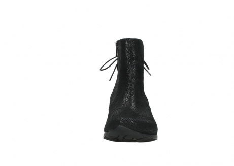 wolky ankle boots 07822 beryl 71000 black leather_19