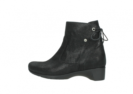 wolky ankle boots 07822 beryl 71000 black leather_2