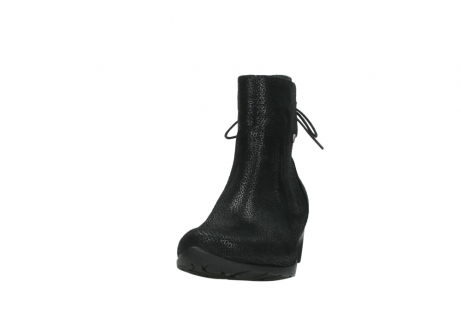 wolky ankle boots 07822 beryl 71000 black leather_20
