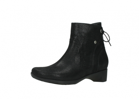 wolky ankle boots 07822 beryl 71000 black leather_23