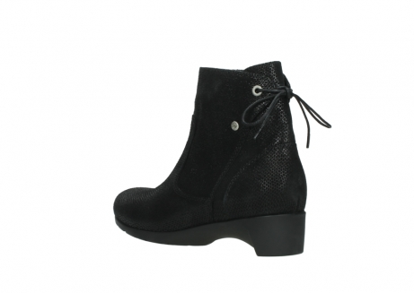 wolky ankle boots 07822 beryl 71000 black leather_4