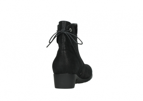 wolky ankle boots 07822 beryl 71000 black leather_8