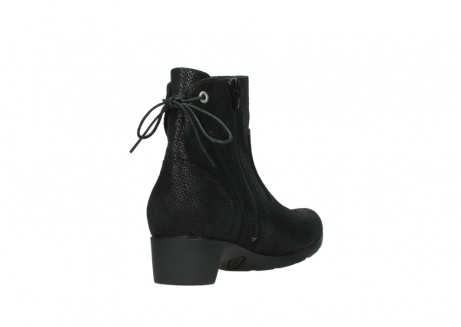 wolky ankle boots 07822 beryl 71000 black leather_9