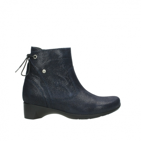 wolky ankle boots 07822 beryl 71800 blue leather
