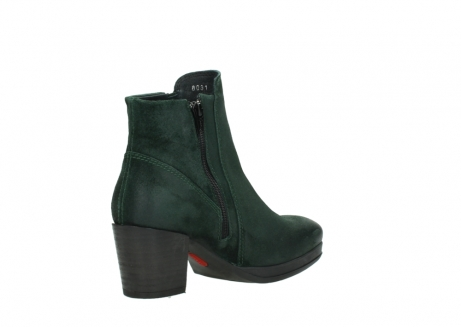 wolky ankle boots 08031 pantua 40731 forestgreen suede_10
