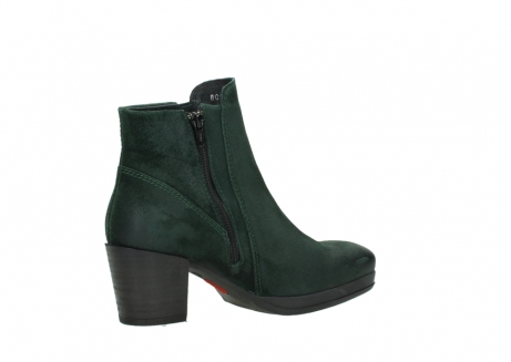 wolky ankle boots 08031 pantua 40731 forestgreen suede_11
