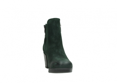 wolky ankle boots 08031 pantua 40731 forestgreen suede_18