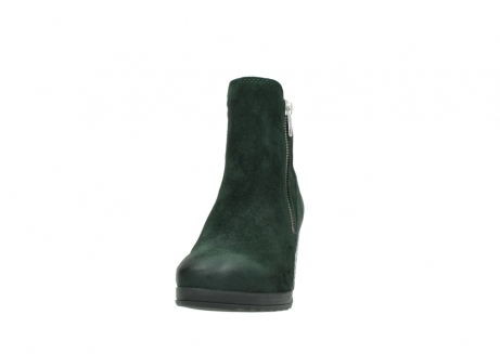 wolky ankle boots 08031 pantua 40731 forestgreen suede_20