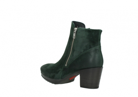 wolky ankle boots 08031 pantua 40731 forestgreen suede_4