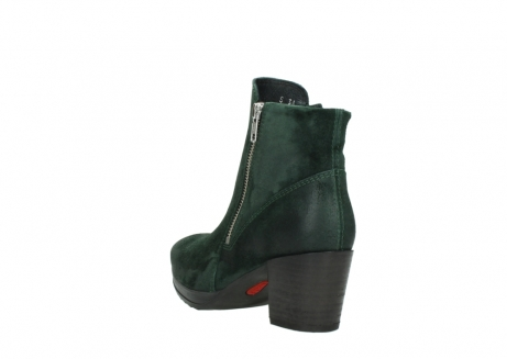 wolky ankle boots 08031 pantua 40731 forestgreen suede_5