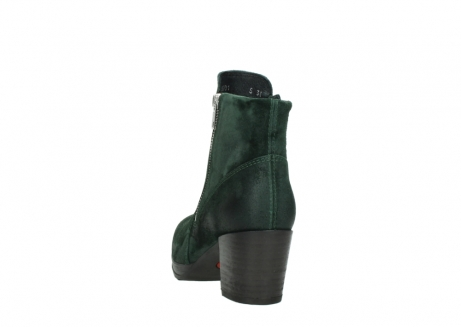 wolky ankle boots 08031 pantua 40731 forestgreen suede_6