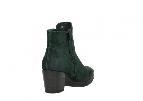 wolky ankle boots 08031 pantua 40731 forestgreen suede_9