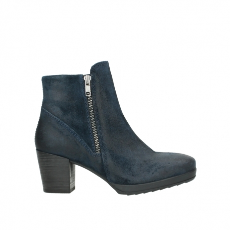 wolky ankle boots 08031 pantua 40801 blue suede