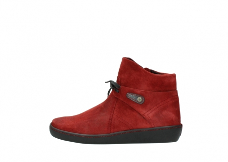 wolky ankle boots 08127 pharos 40501 dark red suede_1