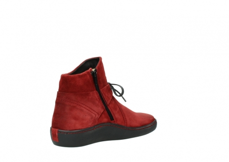wolky ankle boots 08127 pharos 40501 dark red suede_10