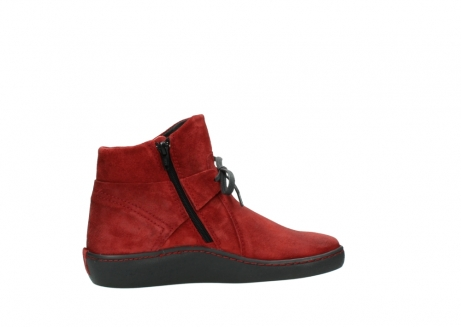 wolky ankle boots 08127 pharos 40501 dark red suede_12