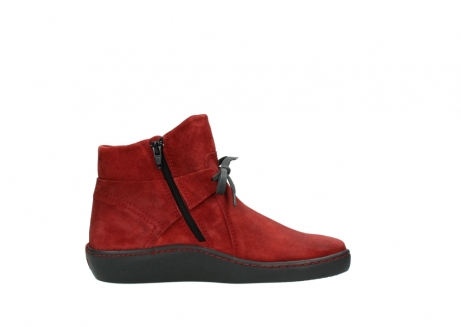 wolky ankle boots 08127 pharos 40501 dark red suede_13