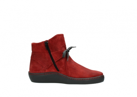 wolky ankle boots 08127 pharos 40501 dark red suede_14