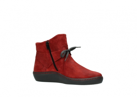 wolky ankle boots 08127 pharos 40501 dark red suede_15