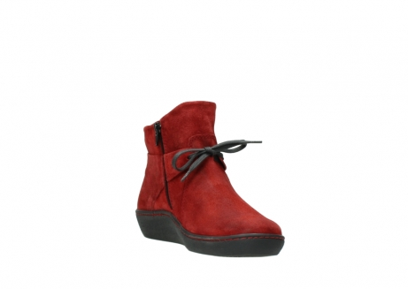 wolky ankle boots 08127 pharos 40501 dark red suede_17