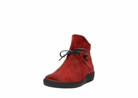 wolky ankle boots 08127 pharos 40501 dark red suede_21