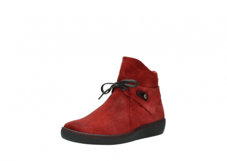 wolky ankle boots 08127 pharos 40501 dark red suede_22