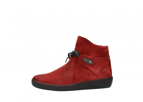 wolky ankle boots 08127 pharos 40501 dark red suede_24
