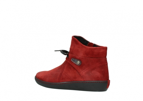 wolky ankle boots 08127 pharos 40501 dark red suede_3