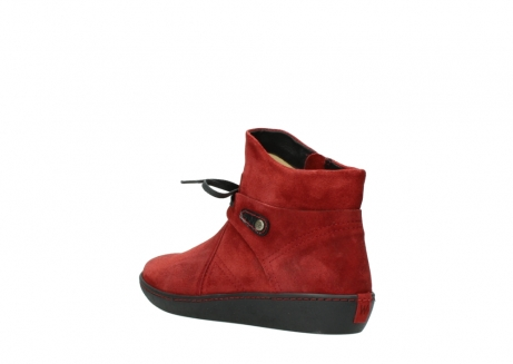 wolky ankle boots 08127 pharos 40501 dark red suede_4