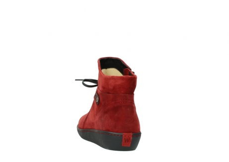 wolky ankle boots 08127 pharos 40501 dark red suede_6