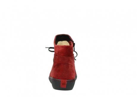 wolky ankle boots 08127 pharos 40501 dark red suede_7