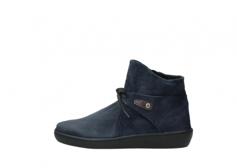 wolky bottines 08127 pharos 40801 blue suede_1