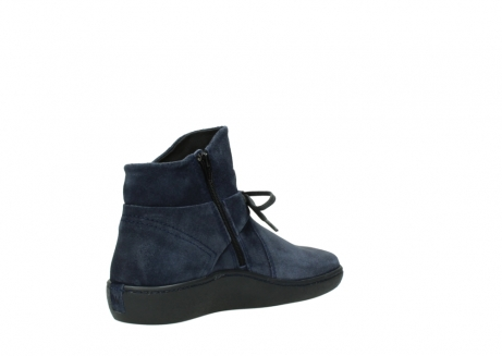 wolky bottines 08127 pharos 40801 blue suede_10