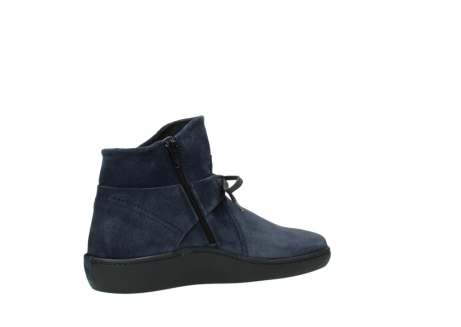 wolky bottines 08127 pharos 40801 blue suede_11