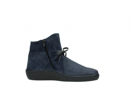wolky bottines 08127 pharos 40801 blue suede_14
