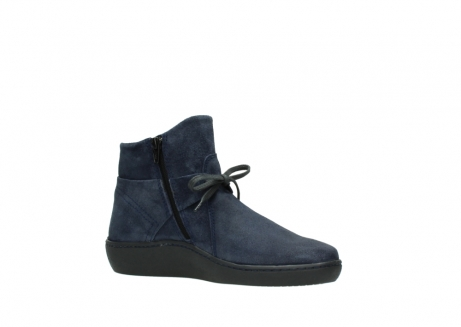 wolky bottines 08127 pharos 40801 blue suede_15